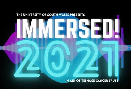 Immersed Festival – Cardiff, University of South Wales – 31 January 2021