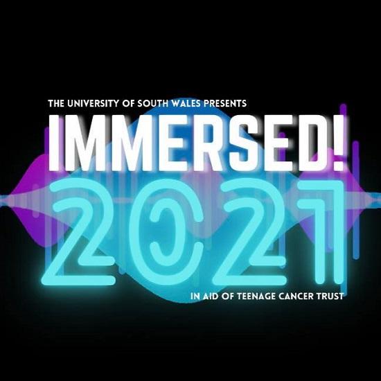 Logo for Immersed Festival 2021