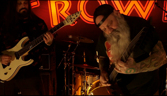 Crowbar performing live in New Orleans on 20 February 2021