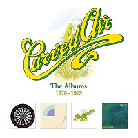 Artwork for The Albums 1970-1973 by Curved Air