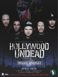 """""""GIG"""" NEWS: Hollywood Undead to become 'Unhinged' on latest live stream"""
