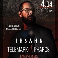 Poster for Ihsahn livestream, 4 April 2021