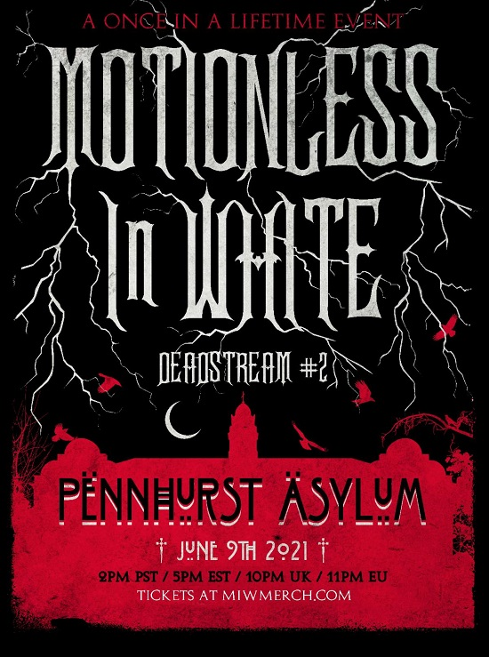 Poster for Deadstream #2 by Motionless In White