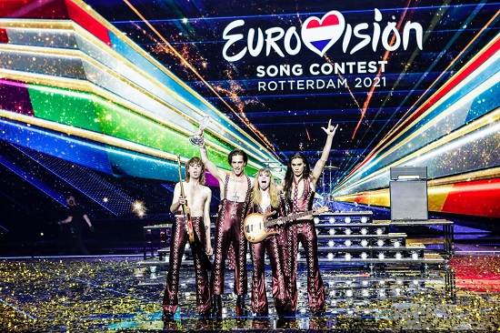 Maneskin win the 2021 Eurovision Song Contest