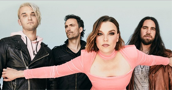 TOUR NEWS: Halestorm invite us to join 'An Evening With…' the band