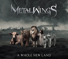 Metalwings – 'A Whole New Land' (Self-Released)