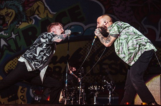 Frank Carter And The Rattlesnakes at the Download Pilot festival