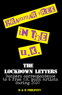 Artwork for Grammar In The UK - The Lockdown Letters by D&D Philpott