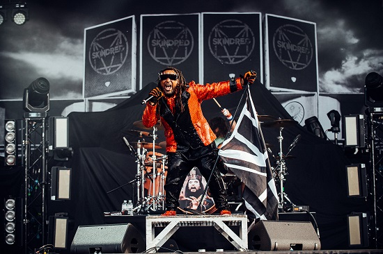 Skindred at the Download Pilot festival
