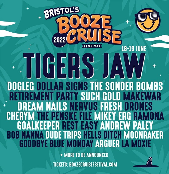Poster for Bristol Booze Cruise 2002