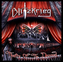 Artwork for Theatre Of The Damned by Blitzkrieg