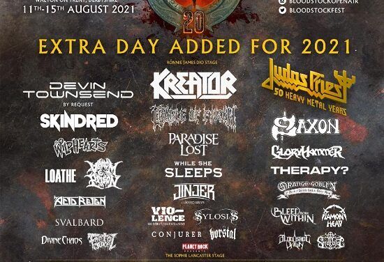 FESTIVAL NEWS: BLOODSTOCK ANNOUNCES MORE CHANGES AND M2TM WINNERS