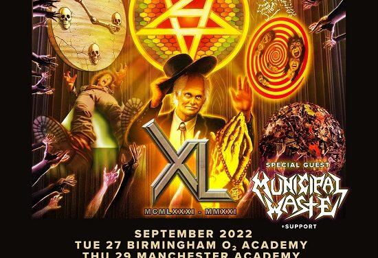 TOUR NEWS: Anthrax announce 2022 dates