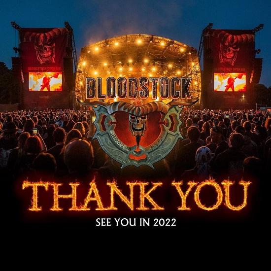 Bloodstock 2021 Thank You Meme