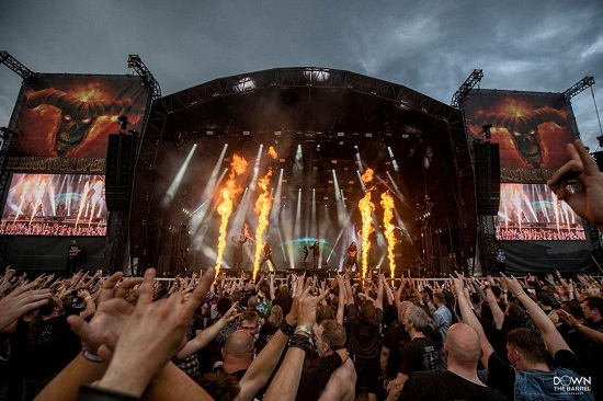 Cradle Of Filth at Bloodstock 2021