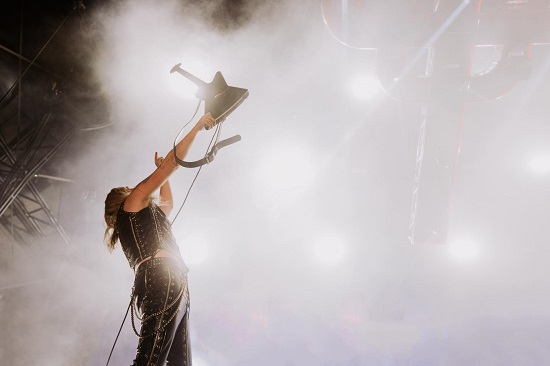 Richie Faulkner of Judas Priest at Bloodstock 2021