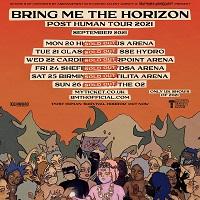 Bring Me The Horizon Post Human 2021 Tour Poster