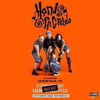 Poster for Hands Off Gretel at The Leadmill, Sheffield, 7 September 2021
