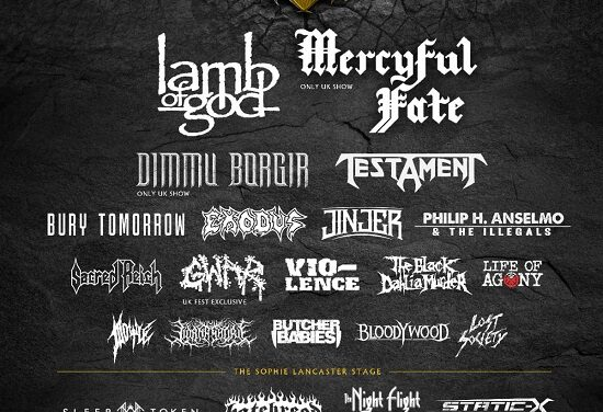 FESTIVAL NEWS: Bloodstock add 12 more bands to 2022 line-up