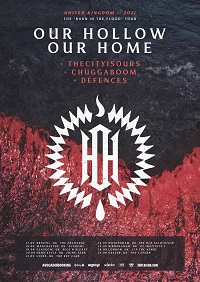 Our Hollow Our Home 2021 tour poster