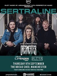 Sertraline/Dreameater/Lost In Lavender Town/Aleya – Manchester, Bread Shed – 9 September 2021