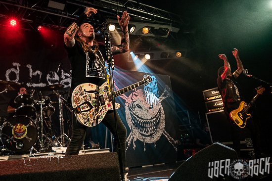 The Wildhearts at Cardiff Tramshed, 3 September 2021